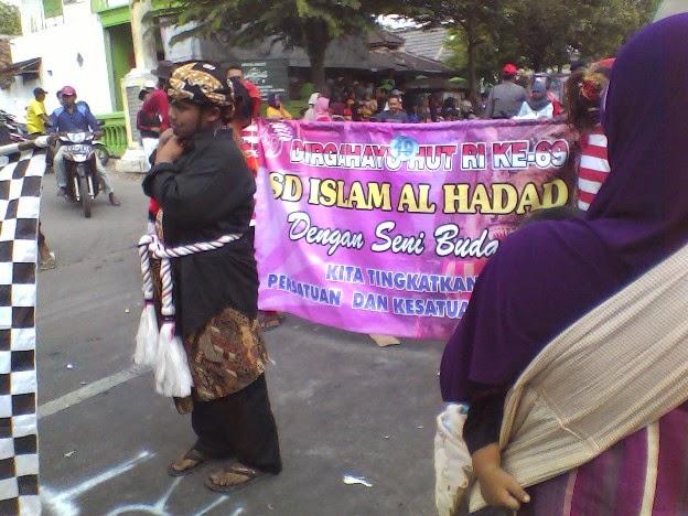 Foto SDI Al Haddad pada Festival Karnaval Kecamatan Singgahan Tuban 2014