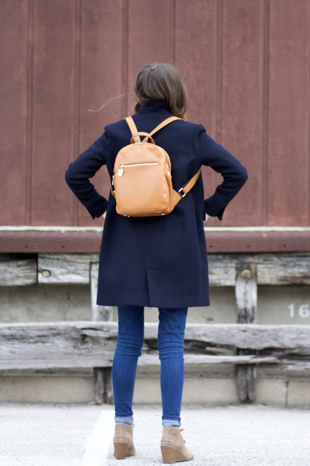 Mellow World Camel Colored Women's Backpack from Prairie Gardens