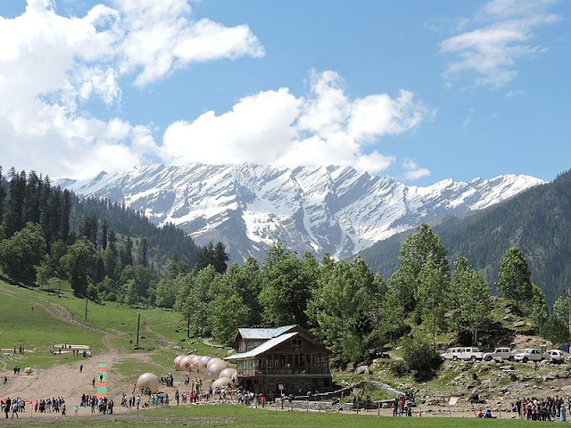 Manali Attraction - Solang Valley