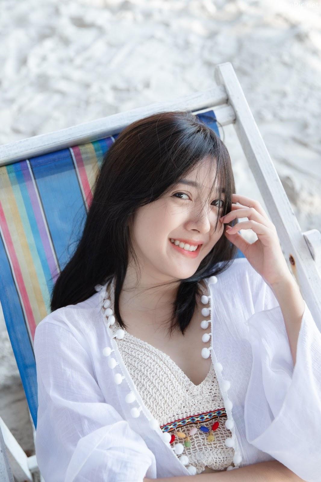 Thailand hot girl Purewarin Kosiriwalanon - Pure beauty and lovely with wool bikini - Picture 2