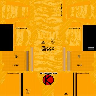 AFC Ajax 2019/2020 Kit – Dream League Soccer Kits – Dream