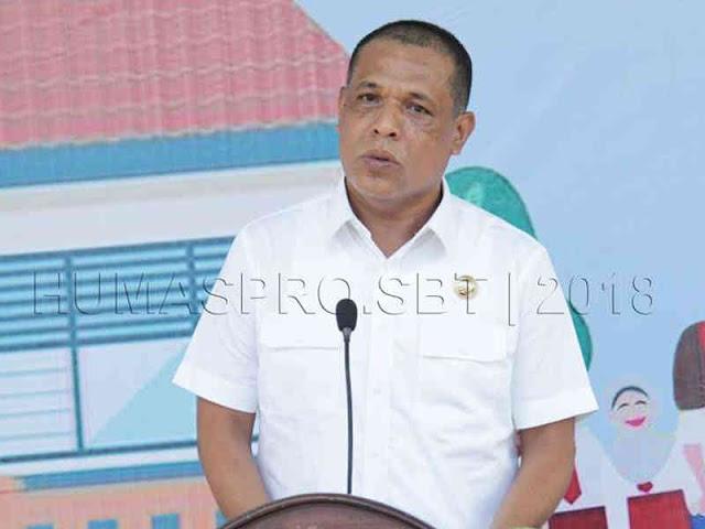 Abdul Mukti Keliobas Canangkan Kampanye Imunisasi Campak Rubella