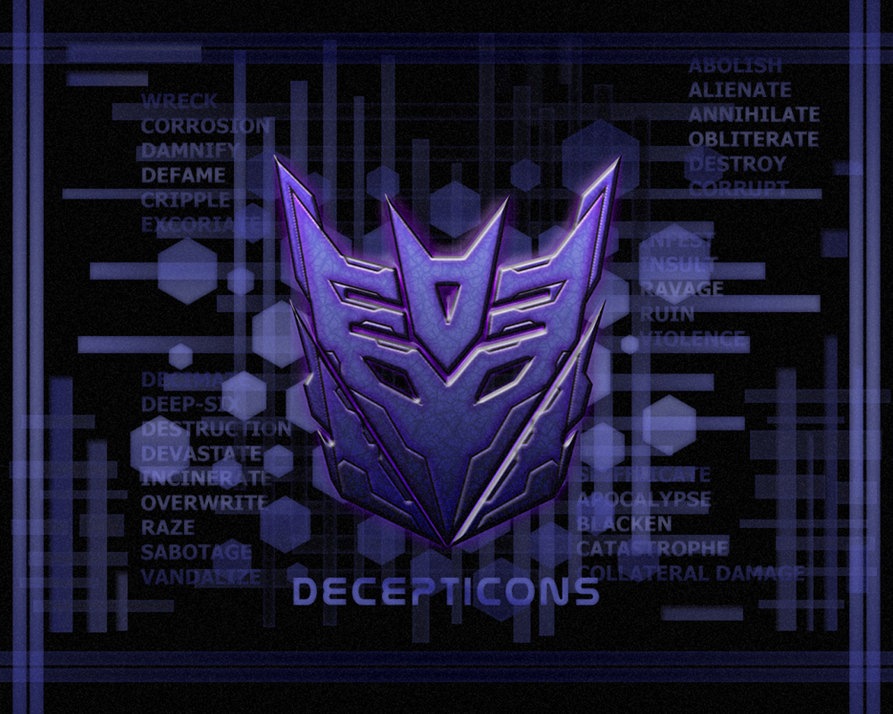 Transformers Fall Of Cybertron Wallpaper 1920x1080 Transformers Matrix Wallpapers Insignia Deceptocon G1 3d