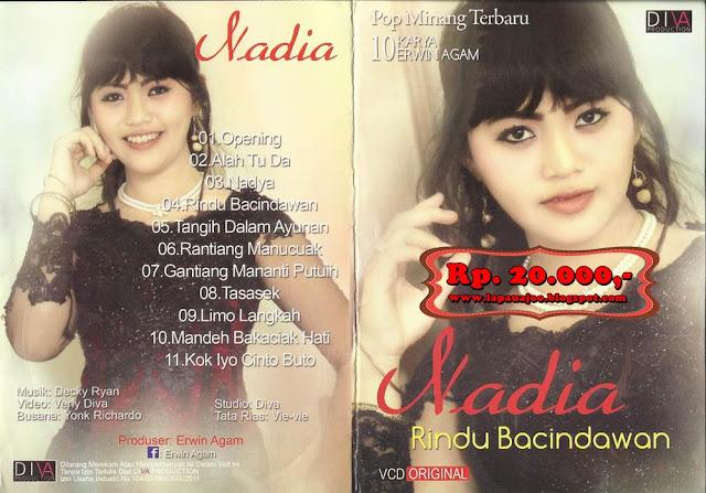 Nadia - Rindu Bacindawan (Album Pop Minang Terbaru 10 Karya Erwin Agam)