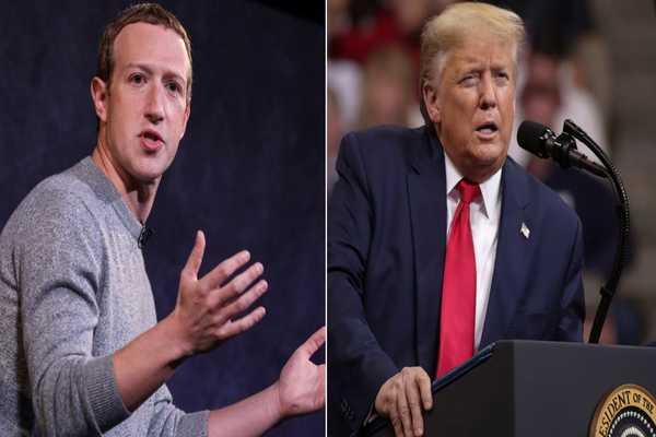 فيسبوك تزيل منشورات انتخابية دعائية لدونالد ترامب