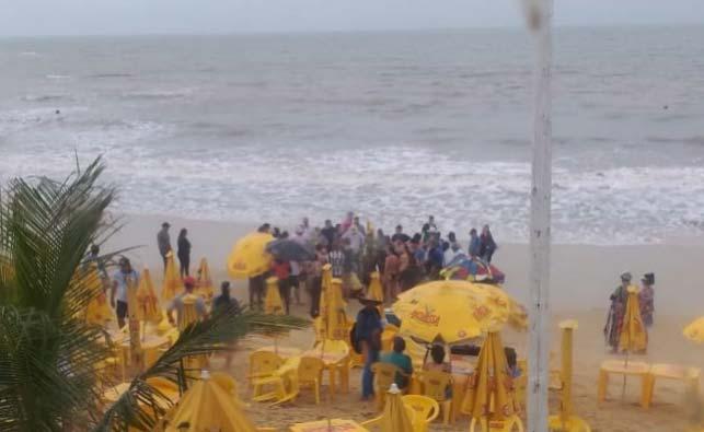 Turista de 50 anos morre em praia de Porto Seguro, na Bahia
