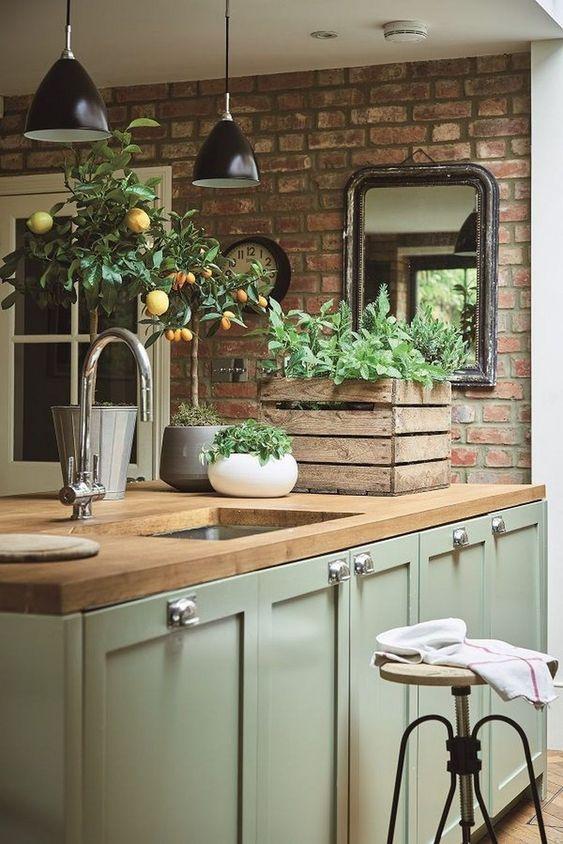 Best Farmhouse Kitchen Design Idea