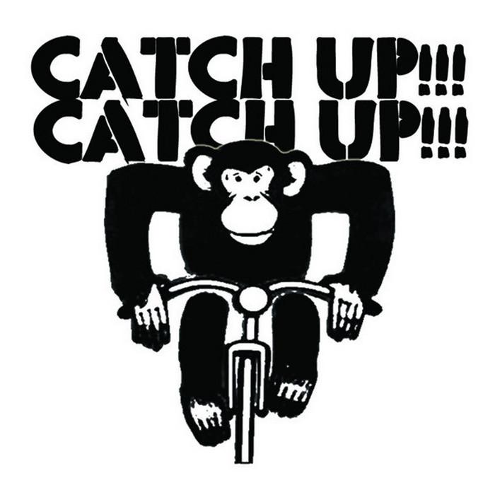 Ape on bike catching up