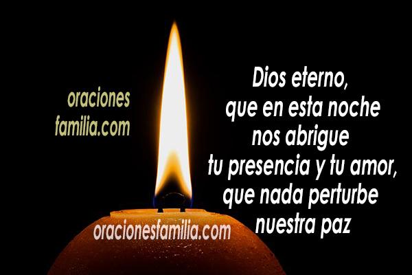 oracion para dormir oraciones para la noche por Mery Bracho