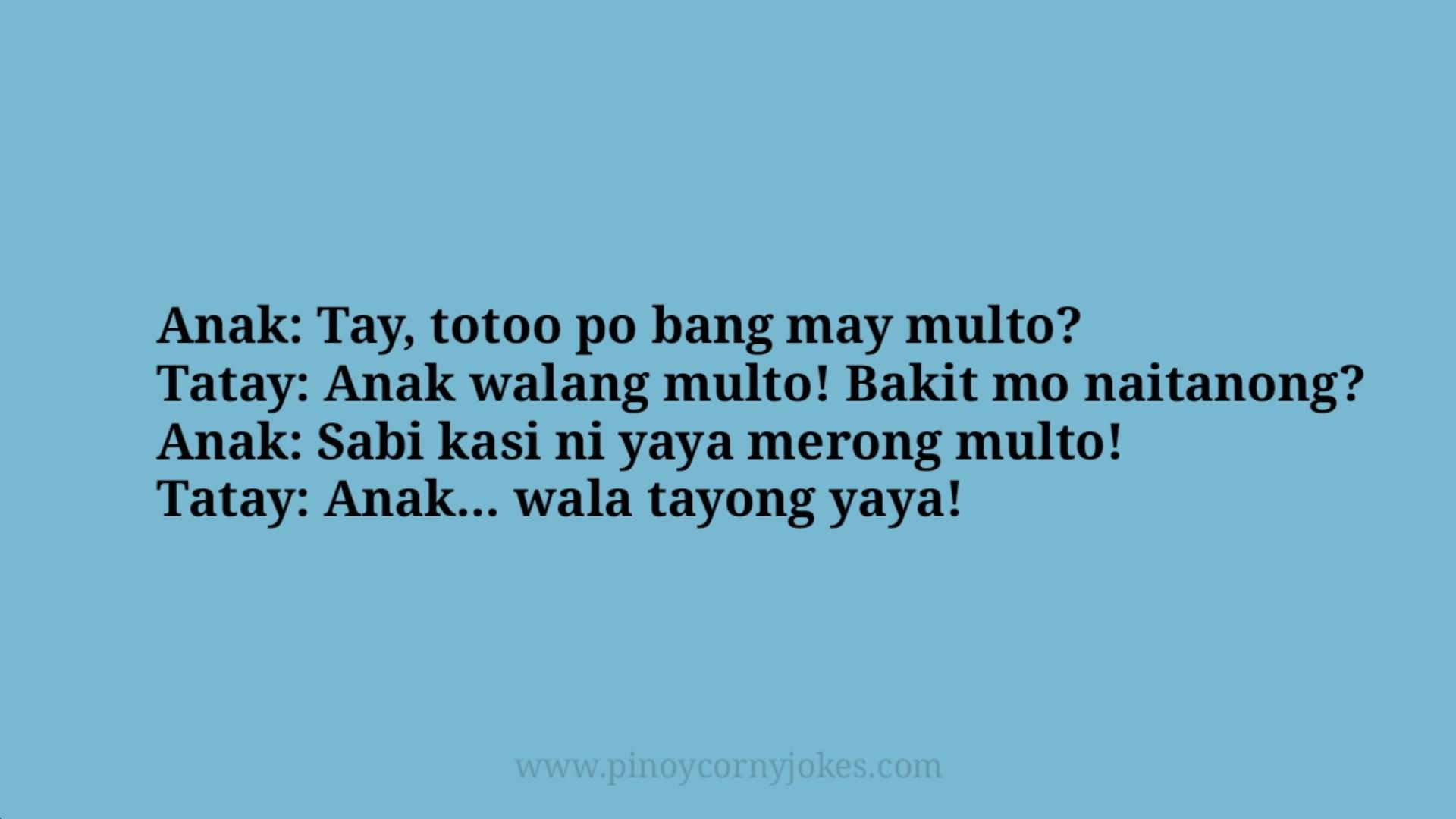 multo pinoy jokes inday yaya maid katulong kasambahay