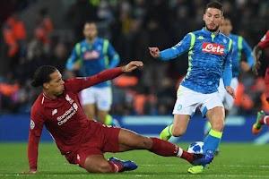 Prediksi Skor Napoli vs Liverpool 18 September 2019