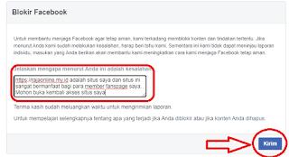 pengajuan banding facebook.