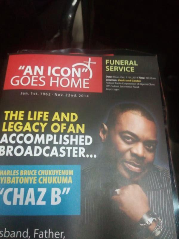 chaz b burial