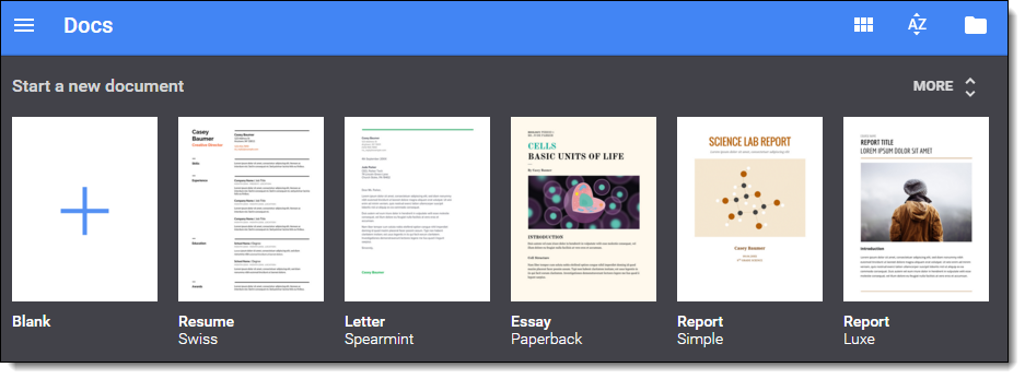Control Alt Achieve: The Future of the Google Drive Template Gallery