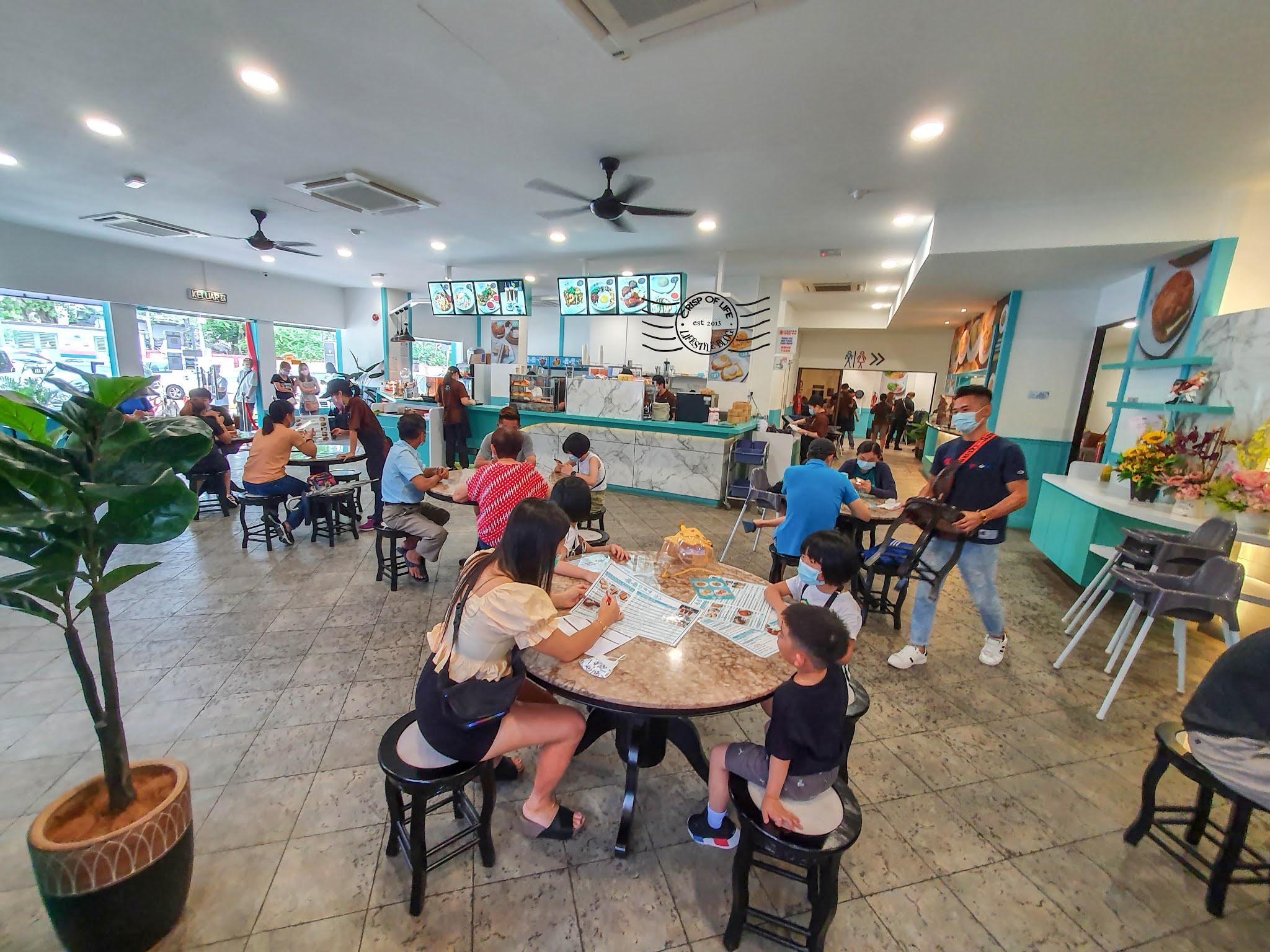 噢噢白咖啡屋OO White Coffee Cafe @ Waterfall Hotel, Jalan Gottlieb Penang