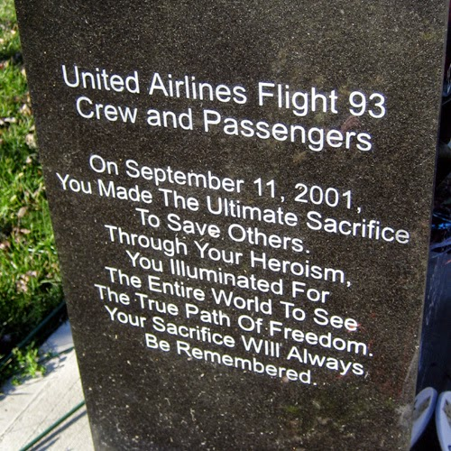 united airline 93 memorial 9-11 stone remembrance image