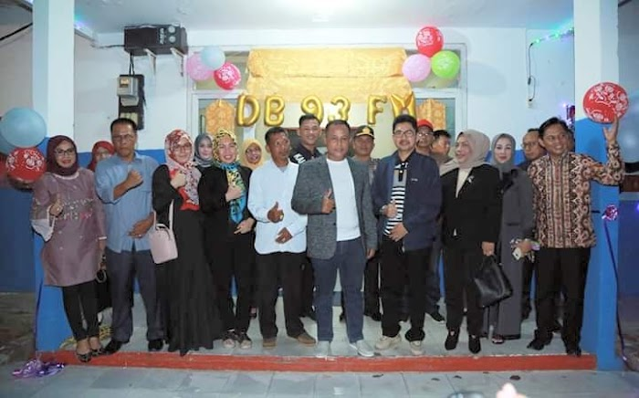 Plt.Nanang Ermanto Hadiri Lounching Radio 93 Fm Milik Pemkab Lamsel.