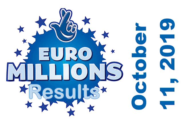 EuroMillions Results for Friday, October 11, 2019