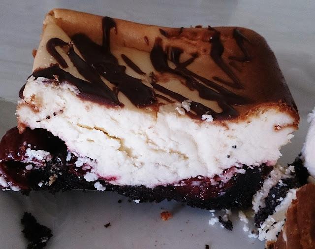 Polish Rye Crust Bakery, Dandenong, sour cherry cheesecake