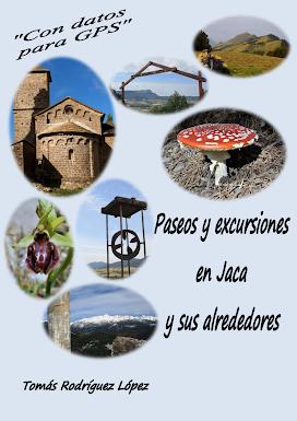 """LIBRO-GUIA """"Paseos y excursiones en Jaca y sus alrededores"""""""