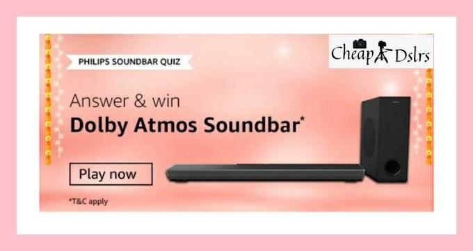 Amazon Philips Soundbar Quiz Answers Win – Dolby Atmos