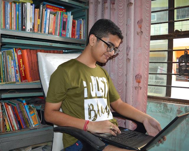 shiv sangal, blogging,myntra,slubdenim, ijustblogalot