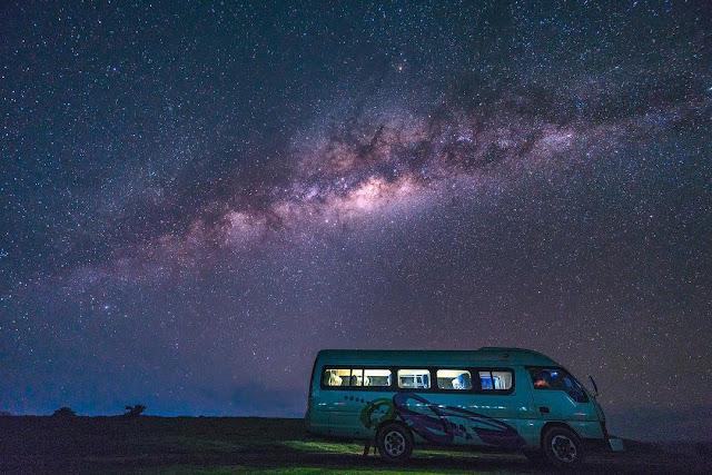 Milky Way di Sumba NTT