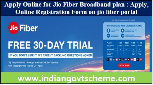 Jio Fiber Broadband plan