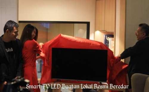 Smart TV LED Buatan Lokal Resmi Beredar