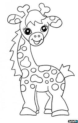 رسومات للتلوين للاطفال للطباعة pdf