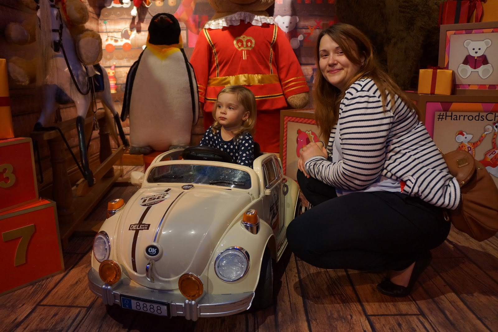 harrods christmas grotto 2015 toy car
