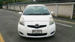 TOYOTA YARIS 1.5 E LIMITED ปี 2012 โฉม ปี06-13 ฆก2531