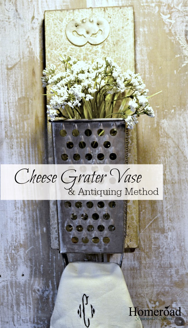 This antiquing method creates the perfect aged patina! Homeroad.net