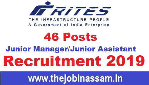 RITES India Ltd Recruitment 2019