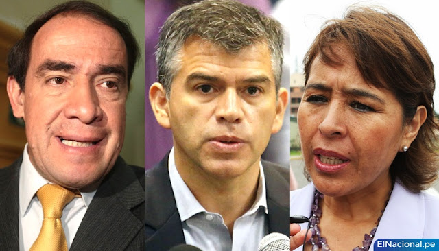 Yonhy Lescano, Julio Guzmán y Nidia Vílchez lideran elecciones internas