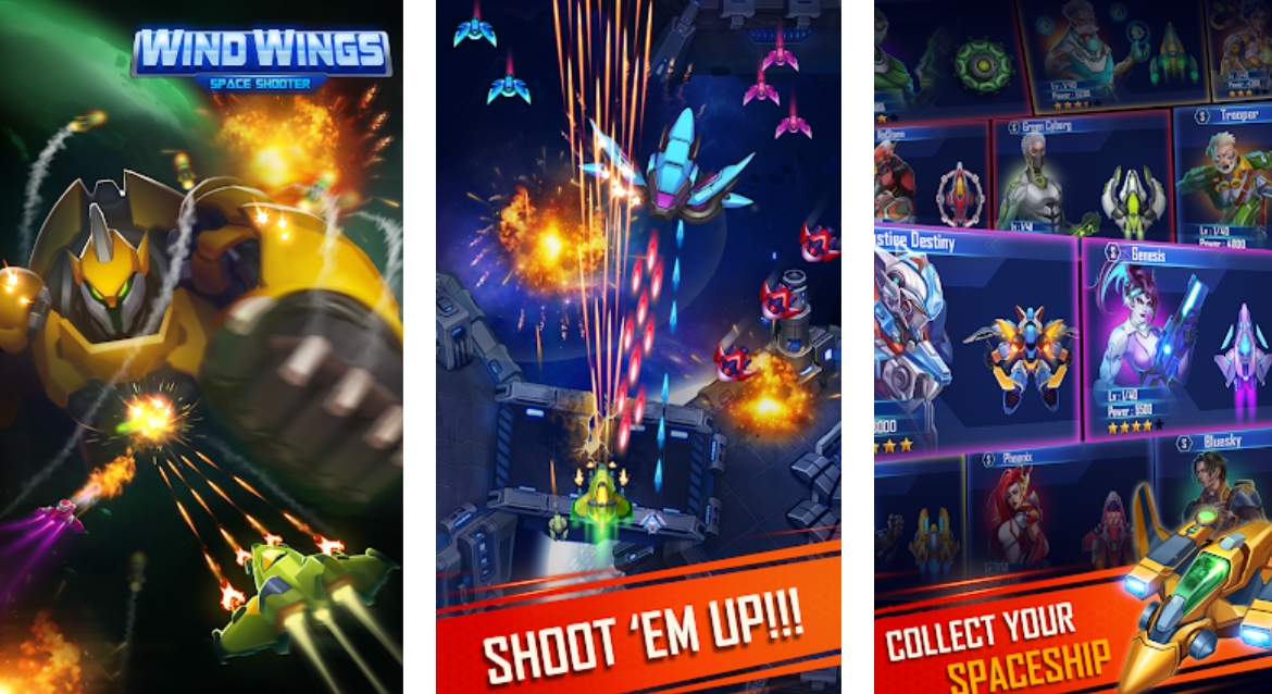 WindWings: Space shooter, Galaxy attack (Premium) (Early Access) Mod