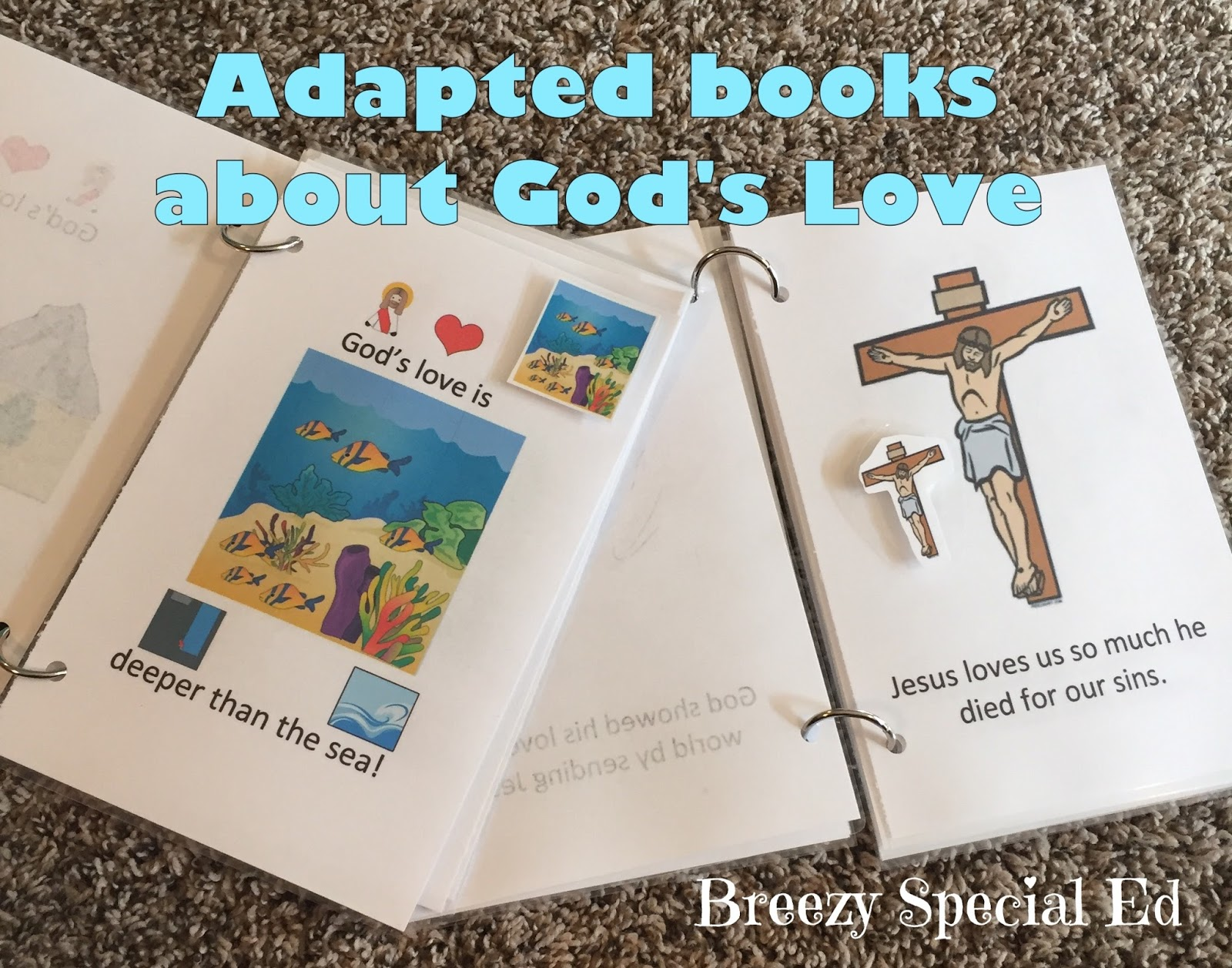 God s Love Adapted and Interactive Books for Special Needs