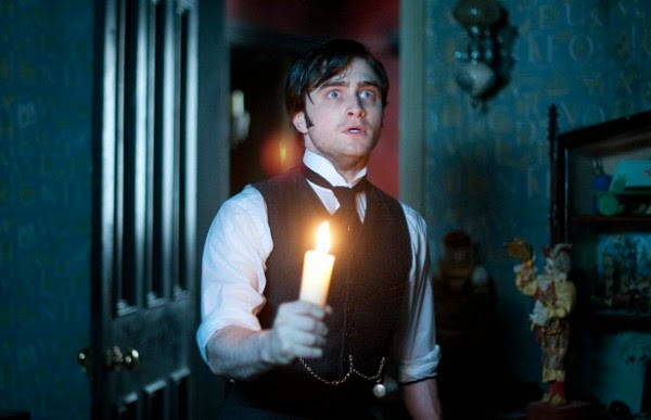 Daniel Radcliffe as Arthur Kipps, a young lawyer The Woman in Black