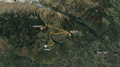 GPS Leiteralm Hochmut Vellau