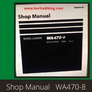 WA470-8 shop manual wheel loader komatsu