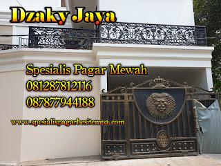 Proyek Pagar Tempa Mewah - Dzaky Jaya