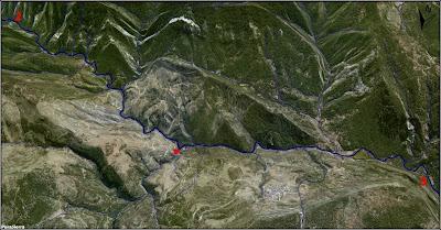 El Río Escabas a vista de pájaro (imagen 3)