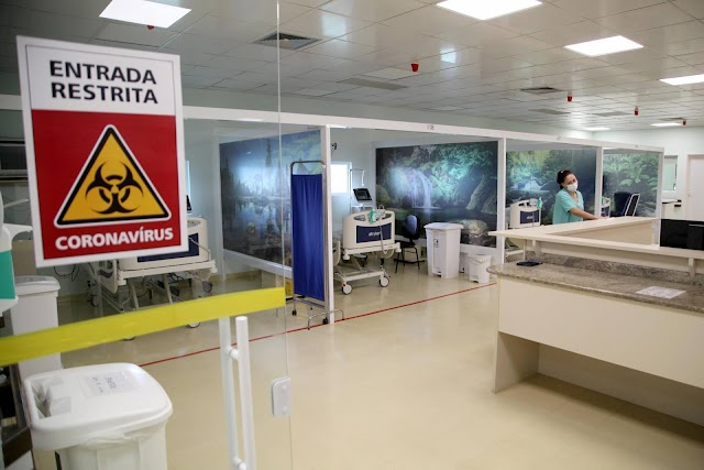 Paraná conta com hospital exclusivo para tratamento do coronavírus