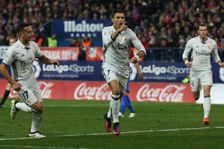 Cristiano Ronaldo becomes all time goalscorer in Madrid Derby