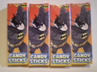 Front of Batman Candysticks box version 3