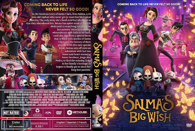 Salma's Big Wish DVD Cover