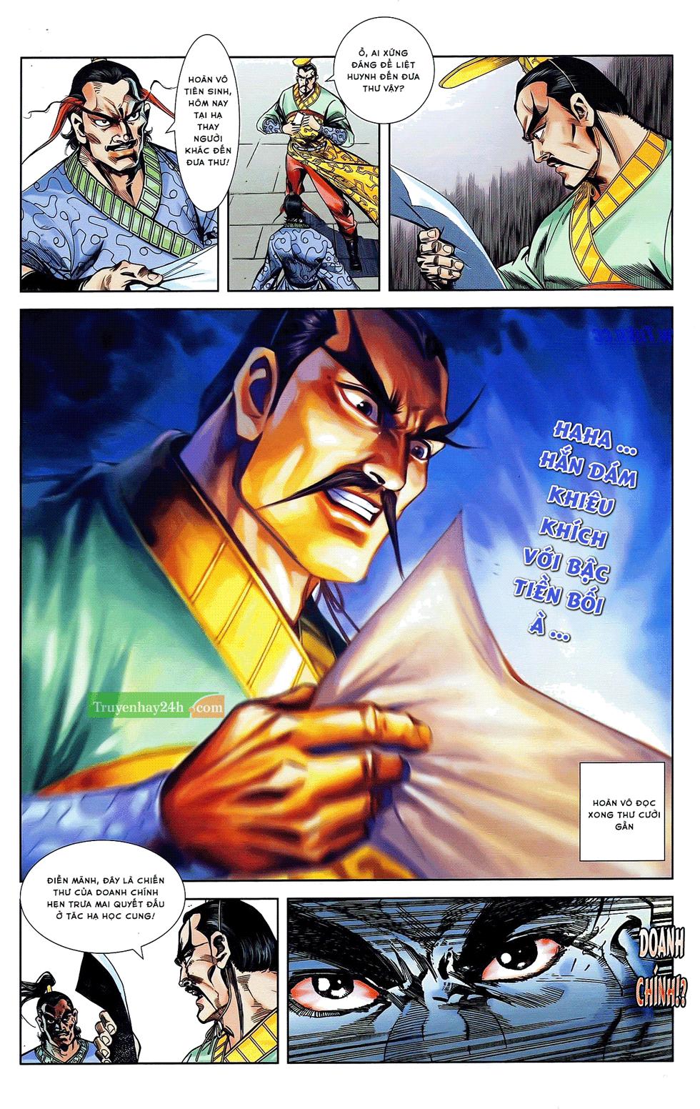 Tần Vương Doanh Chính chapter 21 trang 30