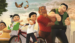 Gambar Film Animasi Adit dan Sopo Jarwo