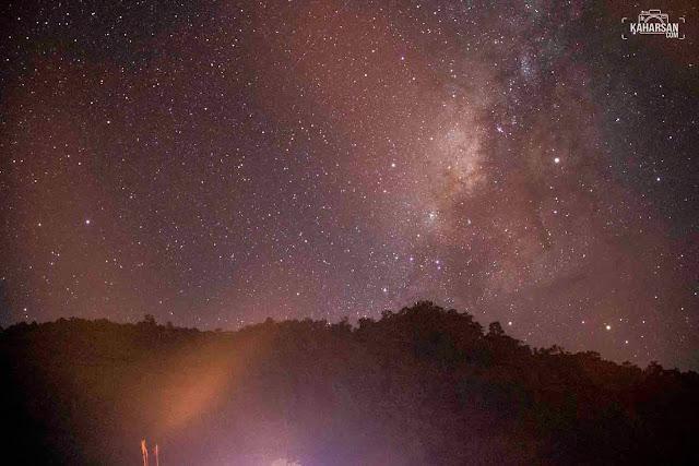 Galaksi Bima Sakti Wisata Bukit Jamur Bengkayang - kaharsan