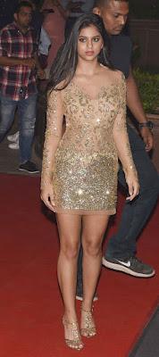 Hot Sizzling Cute Suhana Khan Photos & Videos